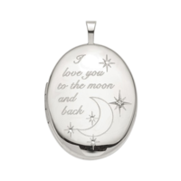 Love to the Moon Locket