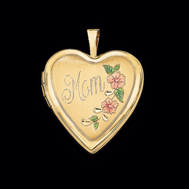 "14k Gold ""Mom"" Locket"