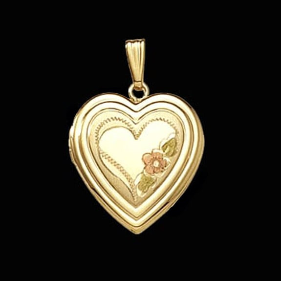 double heart design locket simple jewelry by gracious rose