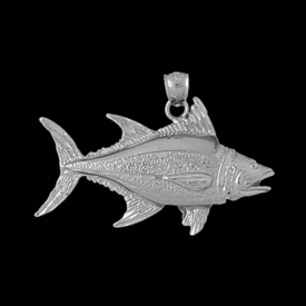 Gold Fish Design Pendant