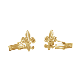 Mens Cufflinks Fleur-de-Lis Cuff Links