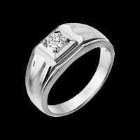 Mens Rings Men's 3/8ctw Diamond Ring