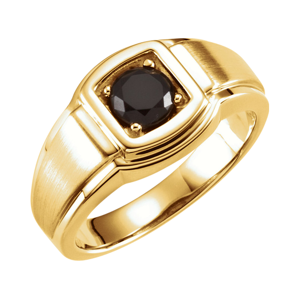 Sophisticated Men S Onyx Ring