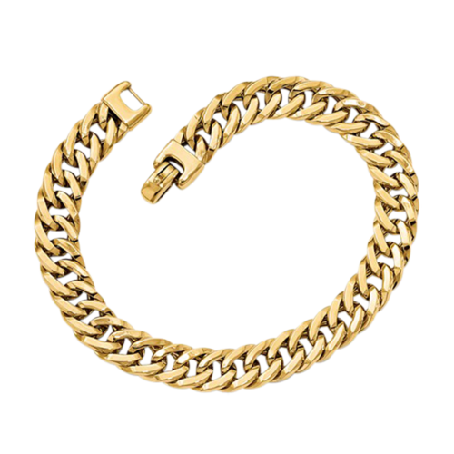 14k Gold Stylish Polished Fancy Bracelet