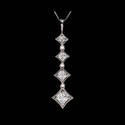 Journey Princess Diamond Necklace
