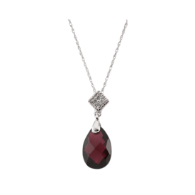 Gemstone Necklaces Brazilian Garnet Necklace