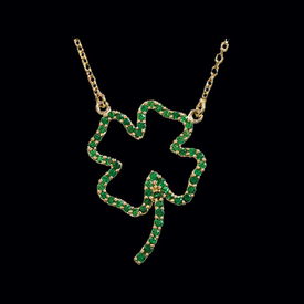 Irish Favorite Clover Necklace