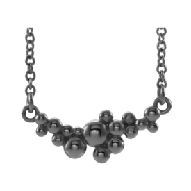 Platinum Necklaces Platinum Scattered Bead Necklace