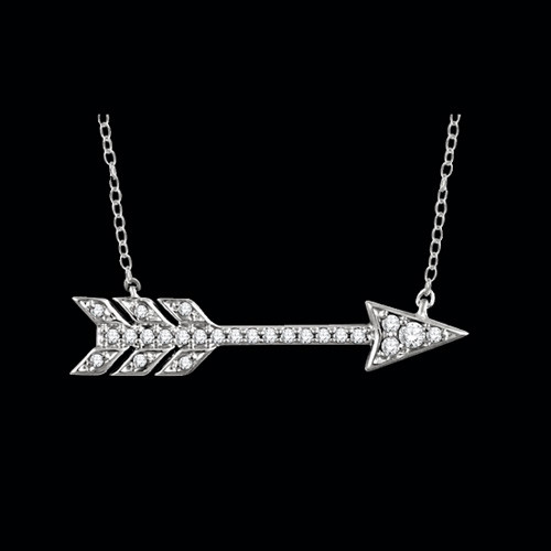 arrow minx necklace large jewelry products