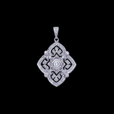 Antique Design Diamond Pendant