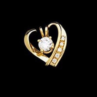 Diamond Heart Solitaire Enhancer