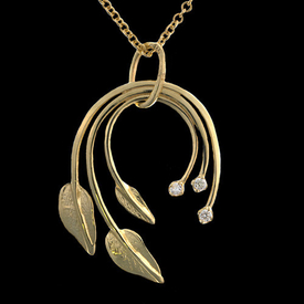 Leaf Design Simple Pendant
