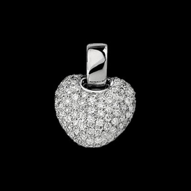 Diamond Pendants Pave Diamond Pendant