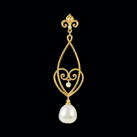 Pearl Pendants Diamond & South Sea Pearl Pendant