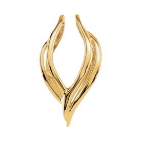 Charming Gold Pendant Enhancer