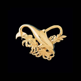 Sea Life Gold Chain Slide