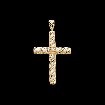 Lovely Diamond Cross
