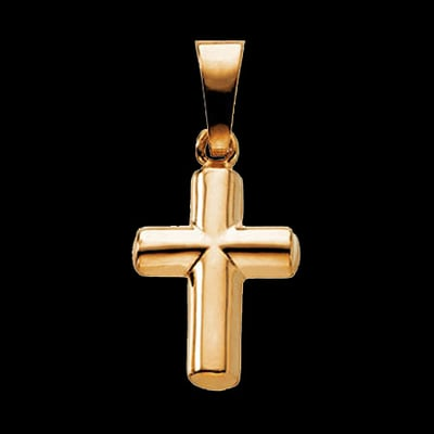 Small Gold Cross