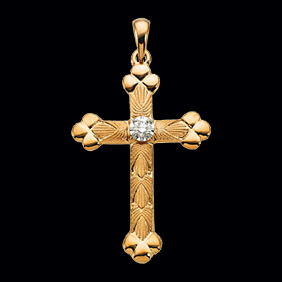 Weston Diamond Cross