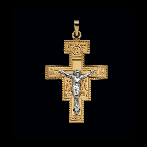 San Damiano Gold Cross