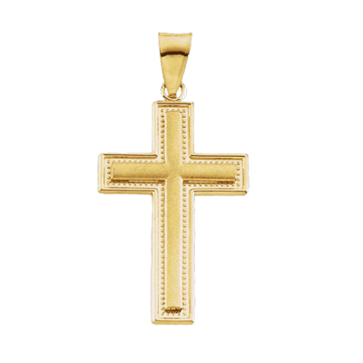 Timeless Gold Cross Pendant