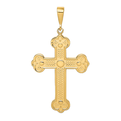 Budded Cross Pendant
