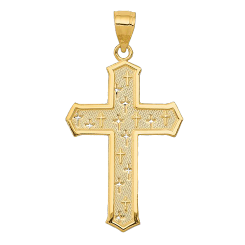 Satin & Polished Passion Cross