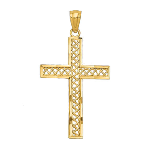 Gold Filigree Cross