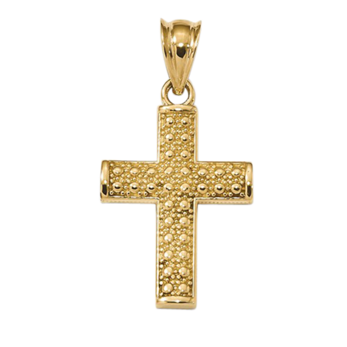 Bubble Cross Pendant