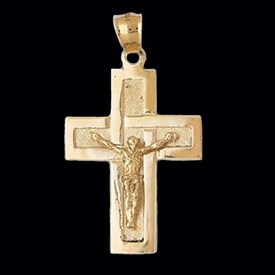 Beautiful Gold Crucifix