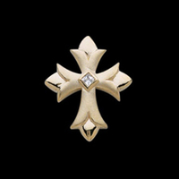 Diamond Cross Diamond Gold Cross