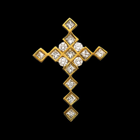 Diamond Shapes Diamond Cross
