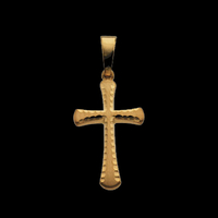 Fancy 14k Gold Cross