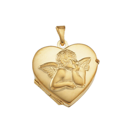 Angel Heart Shaped Locket