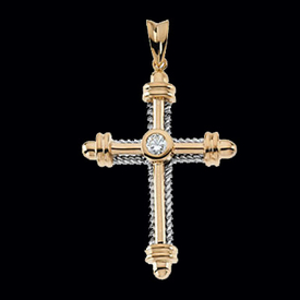 Diamond Cross Nautical Design Diamond Cross