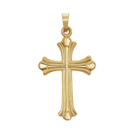 14kt Yellow Gold Cross Pendant