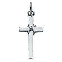 Platinum Cross Dainty Platinum Cross