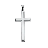 Platinum Cross Distinctive Platinum Cross Pendant