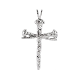 Platinum Nail Cross