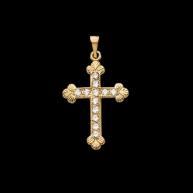 Trinity Design Diamond Cross