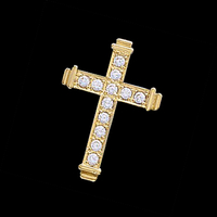 Diamond Cross Latin Diamond Cross Pendant