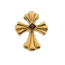 Gemstone Cross Gold Ruby Flair Cross