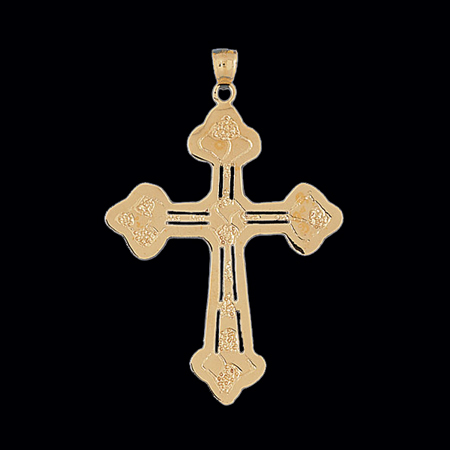 Big cross pendant huge religious pendant by gracious rose aloadofball Gallery