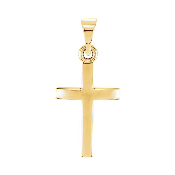 Simple Cross Pendant Classy Jewelry By Gracious Rose