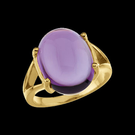 Amethyst Rings Amethyst Gold Ring