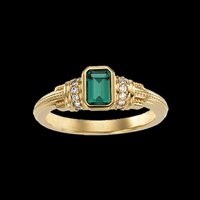 Emerald Rings Emerald Gold Ring