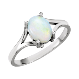 Opal Rings Gold Opal Ring