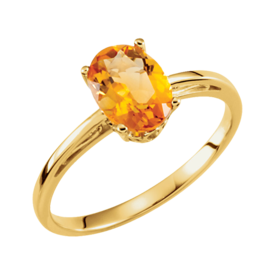 Citrine Rings Citrine Ring