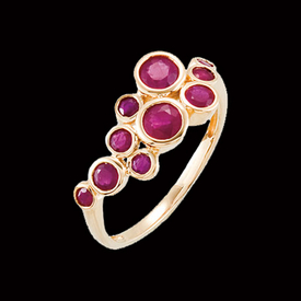 Madagascar Ruby Gold Ring