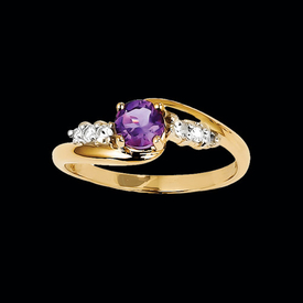 Amethyst Pass Design Ring